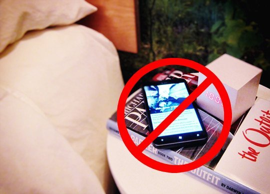 bedroom free phone zone