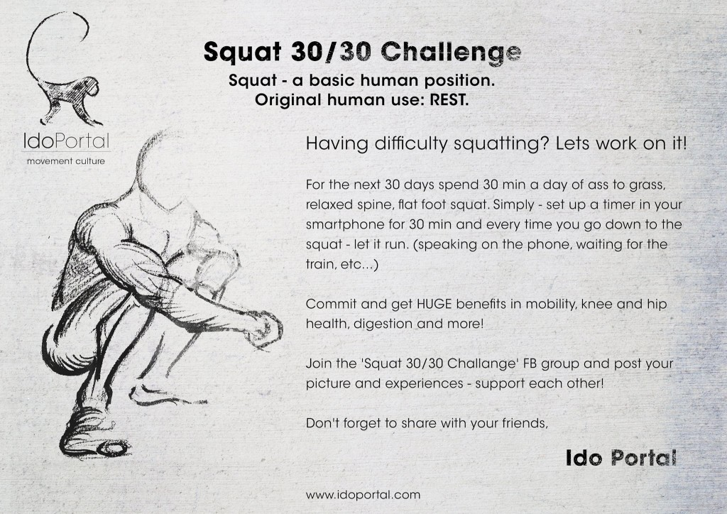 30/30 Squat Challenge by Ido Portal