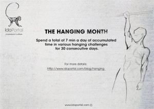 Ido Portal Hanging Challenge