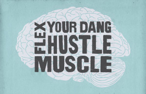 hustle muscle flex