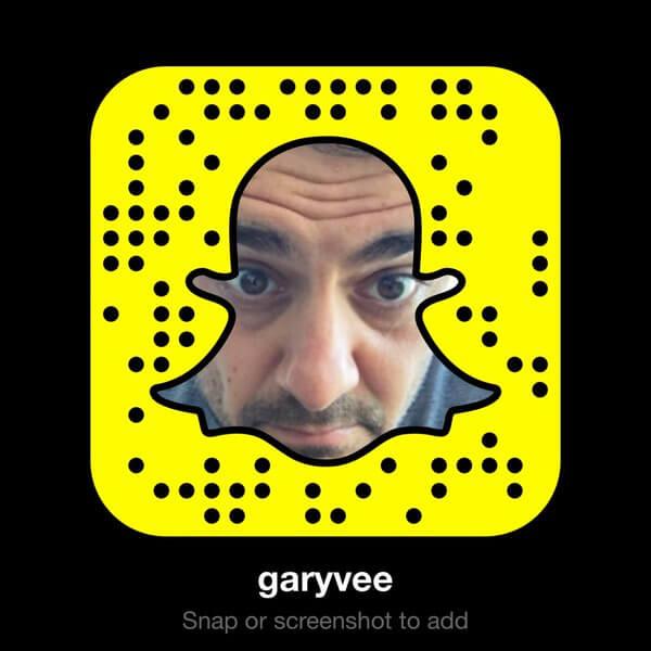 GaryVee Snapchat